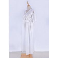 Пляжное платье белое Xanyee, zak36-ZS715