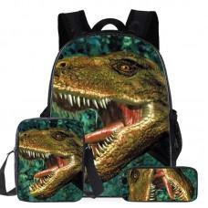 """Набор из 3-х частей (рюкзак 16"""", сумка, пенал) Runningtiger, модель ZZ12-3"""
