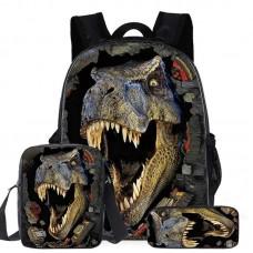 """Набор из 3-х частей (рюкзак 16"""", сумка, пенал) Runningtiger, модель ZZ49-3"""