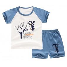 Комплект детский, футболка и шорты хлопок,  zak46-565894453315-1
