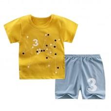 Комплект детский, футболка и шорты хлопок,  zak46-565894453315-11