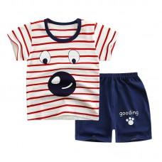 Комплект детский, футболка и шорты хлопок,  zak46-565894453315-13
