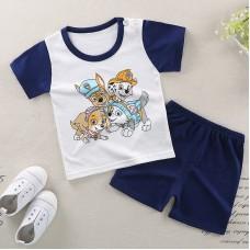 Комплект детский, футболка и шорты хлопок,  zak46-565894453315-15