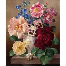Картина по номерам Цветы 40*50см, zak47-73