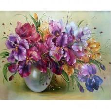 Картина по номерам Цветы 40*50см, zak47-959