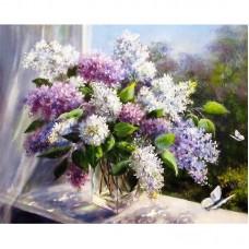 Картина по номерам Цветы 40*50см, zak47-966