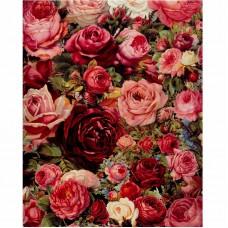 Картина по номерам Цветы   40*50см,  zak47-175
