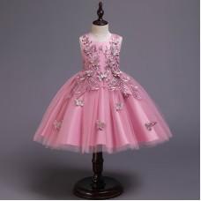 Платье нарядное бежевое, zak48-L-138-1