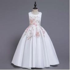 Платье нарядное белое zak48-L-162