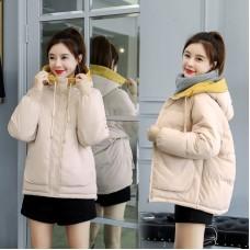 Куртка женская удлиненная, цвет бежевый, zak115-1901XY-5