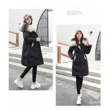 Куртка женская удлиненная, цвет бежевый, zak115-1972QS-4