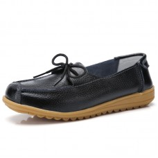 Ботинки кожаные с бантиком-шнурком, zak88-o1805-4
