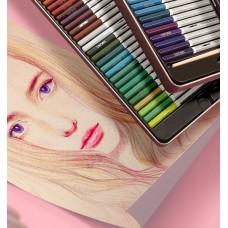 Карандаши акварельные цветные в картонной упаковке 24/36/48 шт. Deli, 6518-6520