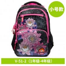 Рюкзак школьный 1-4 класс 19*28*39 см, GRIZZLY V-51-2