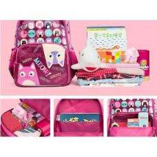 Рюкзак школьный 1-4 класс 19*28*39 см, GRIZZLY V-50-2